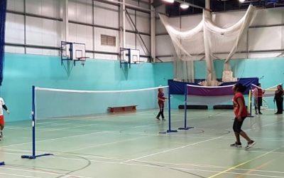 Badminton classes at Handsworth Grammar School