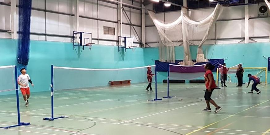 Badminton classes at Handsworth Grammar School