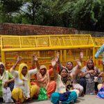 Demonstration in Opposition to the Demolition and Destruction of Shri Guru Ravidass Mandir Tughlakabad, Delhi.