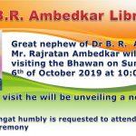 Vist by Mr. Rajratan Ambedkar